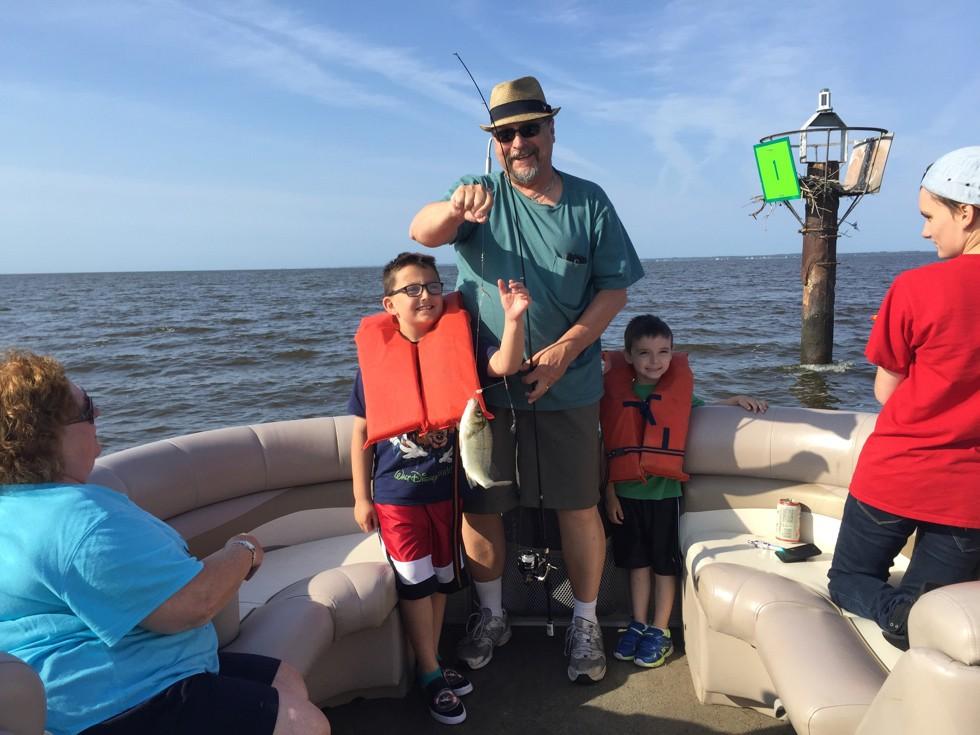 OBX Pontoon Man Family Fishing Trip