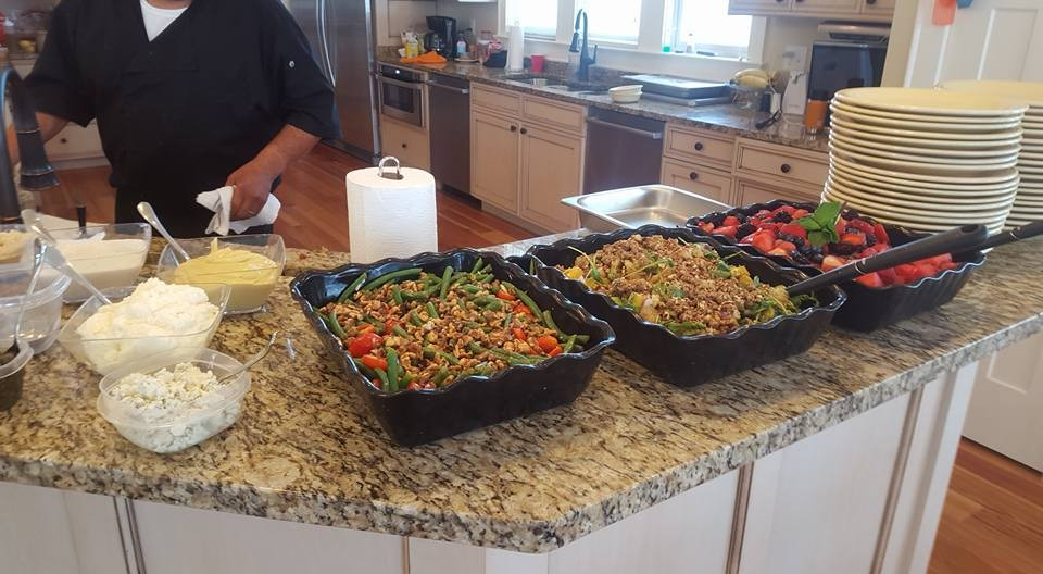 Outer Banks Brunch Wedding Catering