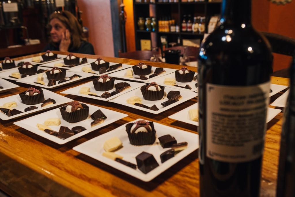 Wine & Chocolate: Sweets & Swirls